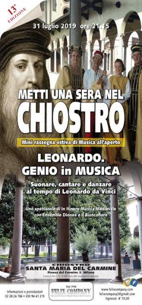 Leonardo. Genio in musica Locandina1