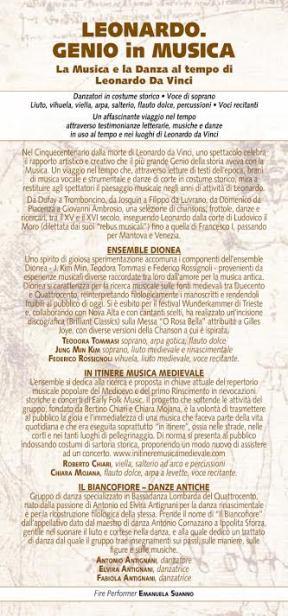 Leonardo. Genio in musica Locandina2